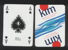 Cigarettes Advertising Playing Cards Kim cigarettes